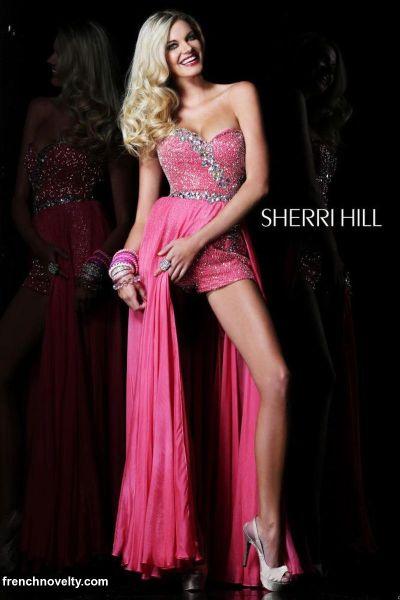 31a59a1b617 Sherri Hill 2976 High Low Dress  French Novelty