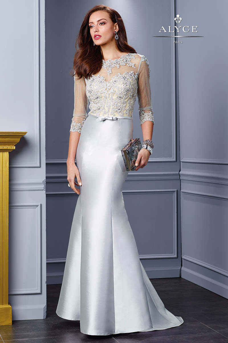 alyce jean de lys 29761 elegant mother of the bride dress