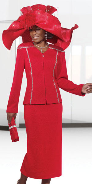 3e8632583b3 Donna Vinci Knits 2979 Womens 2pc Church Suit  French Novelty