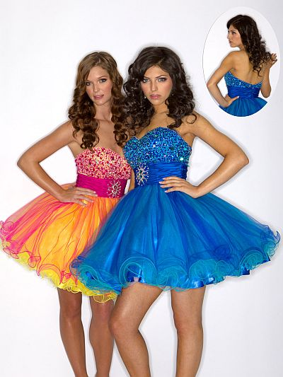 Wow Prom Short Prom Dress 3001S: French Novelty
