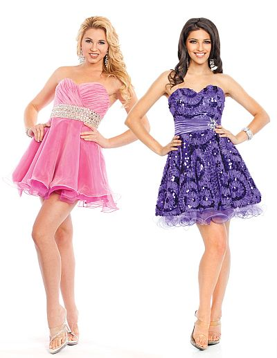 Wow Prom Ice Pink Short Prom Dress 3003S: French Novelty