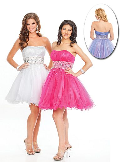 Wow Prom Short Prom Dress 3009S: French Novelty