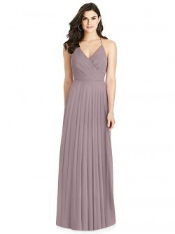 Dessy Collection 3021 Back Ruffle Bridesmaid Dress