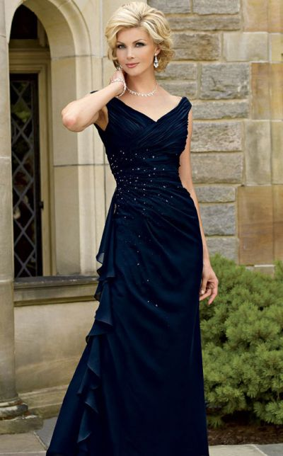 Caterina by Jordan Off the Shoulder Mother of the Bride Dress 3023 ...