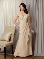Caterina 3026 Lace Chiffon MOB Gown image