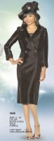 Lily and Taylor 3028 Womens Church Dress with Sequins image
