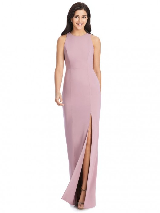 e502cd32a0 Dessy 3029 Diamond Back Crepe Bridesmaid Dress  French Novelty