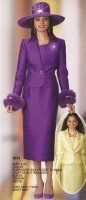 Lily and Taylor 3031 Womens 3pc Church Suit image