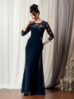Caterina 3040 Beaded Lace Mothers Dress image