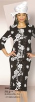 Lily and Taylor 3042 Womens Sequin Dress image
