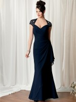 Caterina 3045 Cap Sleeve Formal Dress image