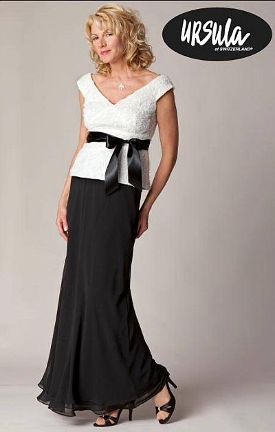 Black And White Mother Of The Bride Dresses 14
