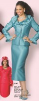 Lily and Taylor 3147 Womens 2pc Church Suit image