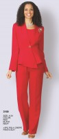Lily and Taylor 3169 Womens 3pc Pant Suit image