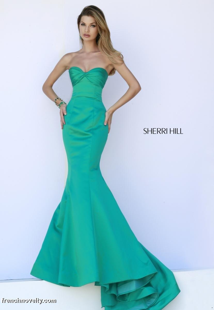 Sherri Hill 32072 Mermaid Prom Dress: French Novelty