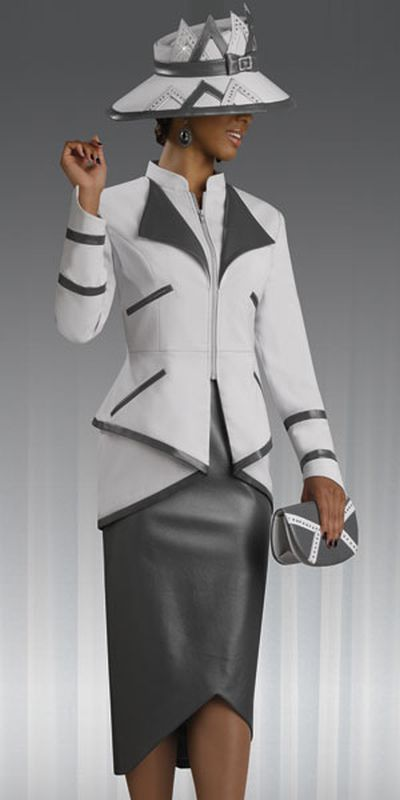 lisa rene 3211 womens church suit by donna vinci french