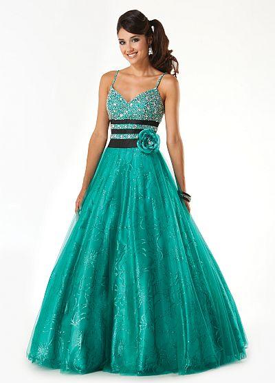 Mystique Iridescent Taffeta Prom Dress 3211 by Bonny Bridal ...