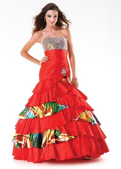 Mystique Corset Back Prom Dress 3238 by Bonny Bridal: French Novelty