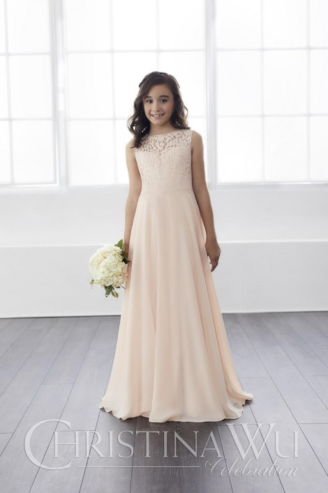 698c91d77 Christina Wu 32813 Mini Maids Gown with Lace: French Novelty
