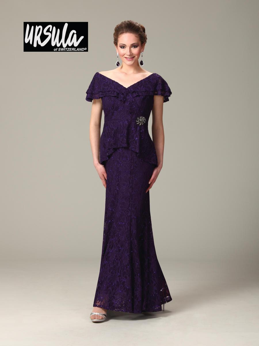 Ursula of switzerland 33180 lace mothers wedding dress for Vintage wedding dresses houston