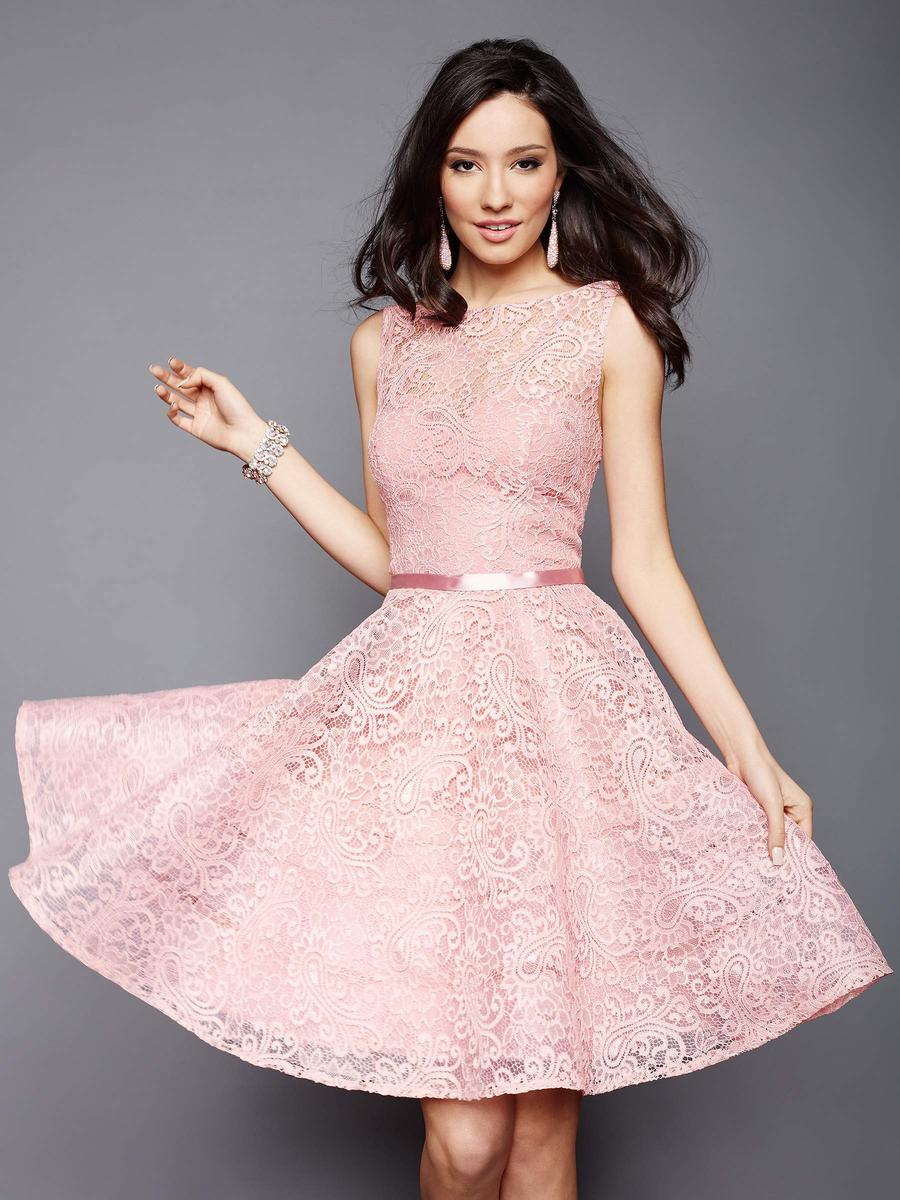 Clarisse 3335 Lace Short Homecoming Dress French Novelty