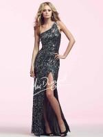 Mac Duggal 3389N Long Sequin Dress image