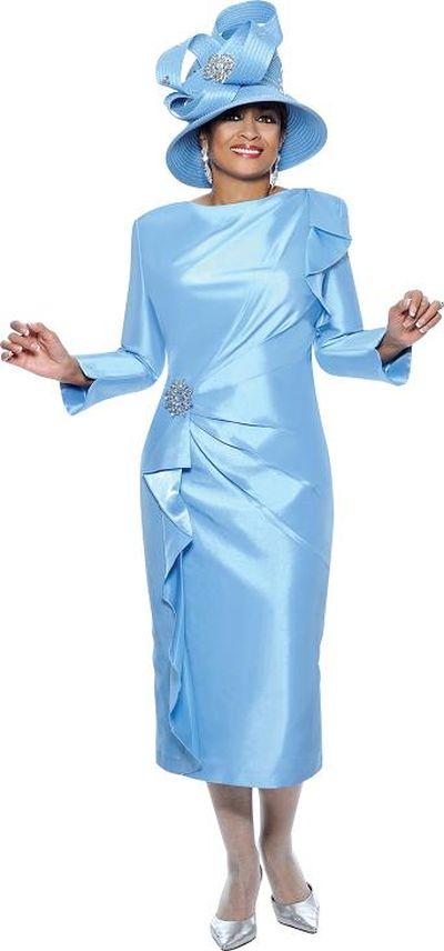 Dorinda Clark Cole 3455 Church Dress: French Novelty