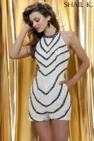 Shail K 3462 Beaded Dressy Romper image