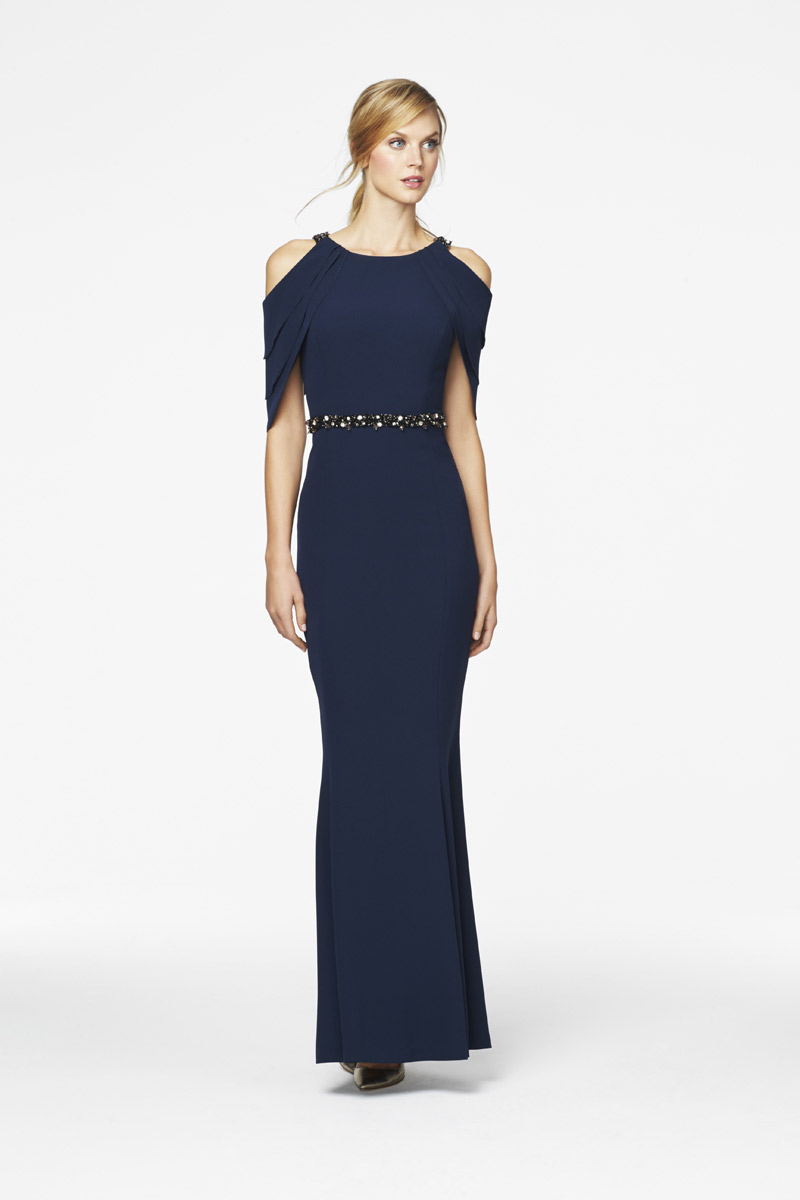 Daymor Couture 350 Mothers Gown With Cold Shoulders