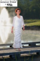 Lasuisse Bridal by Ursula 35006 Sleeveless Gown image