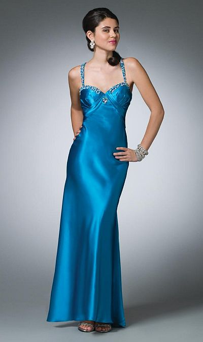 Alfred Angelo Prom Dress With Beautifully Beaded Straps 3505 French