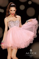 Alyce Sweet Sixteen 3594 Baby Doll Dress image