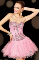 Alyce Sweet Sixteen 3596 Dropped Waist Short Dress image