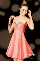 Alyce Sweet Sixteen 3598 Short Sheer Dress image