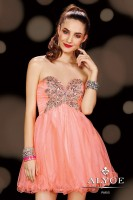Alyce Sweet Sixteen 3599 Short Ruched Dress image