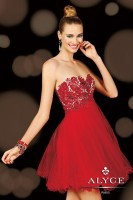 Alyce Sweet Sixteen 3601 Short Tulle Party Dress image