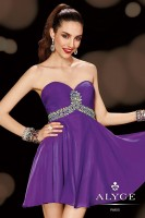Alyce Sweet Sixteen 3608 Short Empire Dress image