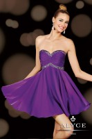 Alyce Sweet Sixteen 3609 Short Jeweled Dress image