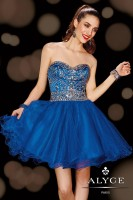 Alyce 3612 Sweet Sixteen Beaded Tulle Dress image
