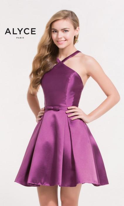 Alyce Paris 3702 Short 8th Grade Dance Dress