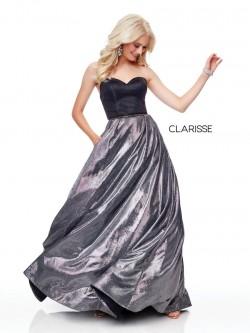 fe7239bacc1d2 Clarisse 3710 Shiny Prom Dress