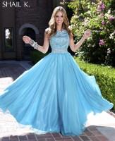 Shail K 3842 Princess Evening Gown image
