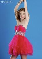 Shail K 3849 Short Princess Dress image