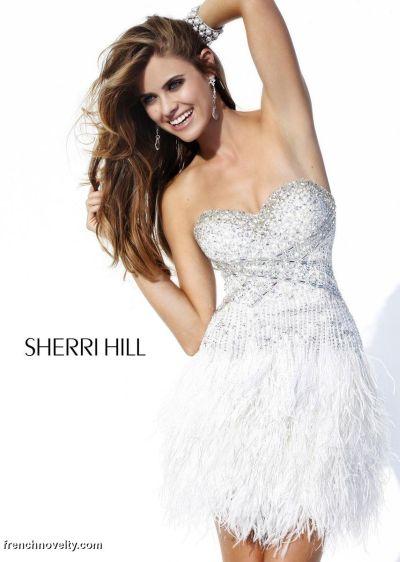 Sherri Hill Short Prom Dress 3852: French Novelty