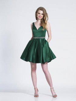 06f80953b6 Dave and Johnny 3854 Short Homecoming Dress