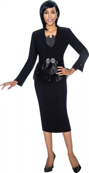 e7549d248c Susanna 3870 Ladies 3 Piece church Suit  French Novelty