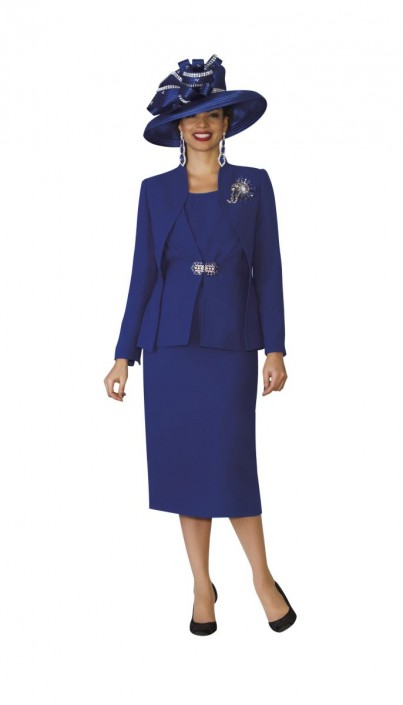 Lily And Taylor 3936 Womens 3pc Church Suit French Novelty