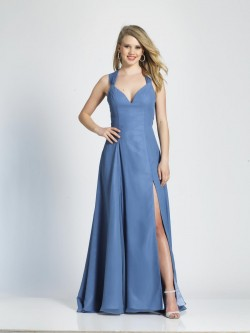 94182edc4c2 Dave and Johnny 3972 Strappy Back Prom Gown