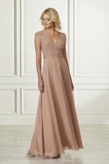 3a2fdcb786 Adrianna Papell Platinum 40173 Cap Sleeve Bridesmaid Dress