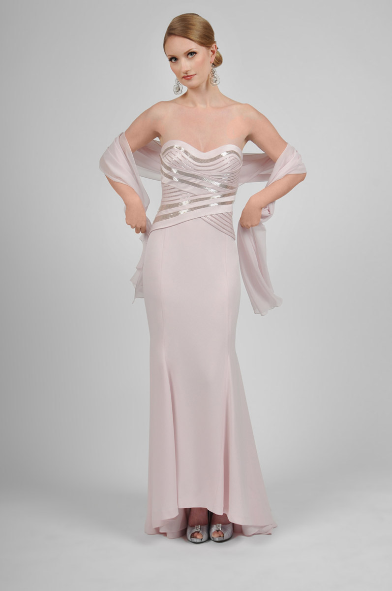 Daymor Couture 406 Mother Of The Bride Dress With Shawl